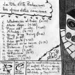 LA PUTA ÉLITE 2001 - INTERIOR FRONT COVER