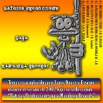 BATUSSY PRODUCCIONES PARA MANDINGA RECORDS - FRONT COVER