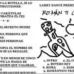 ROMÁNTICO TRÁGICO - COMPLETE FRONT COVER