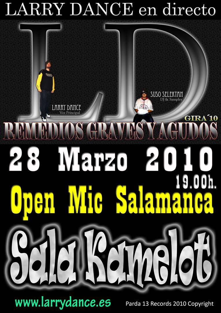 Live in Sala Camelot (Salamanca)