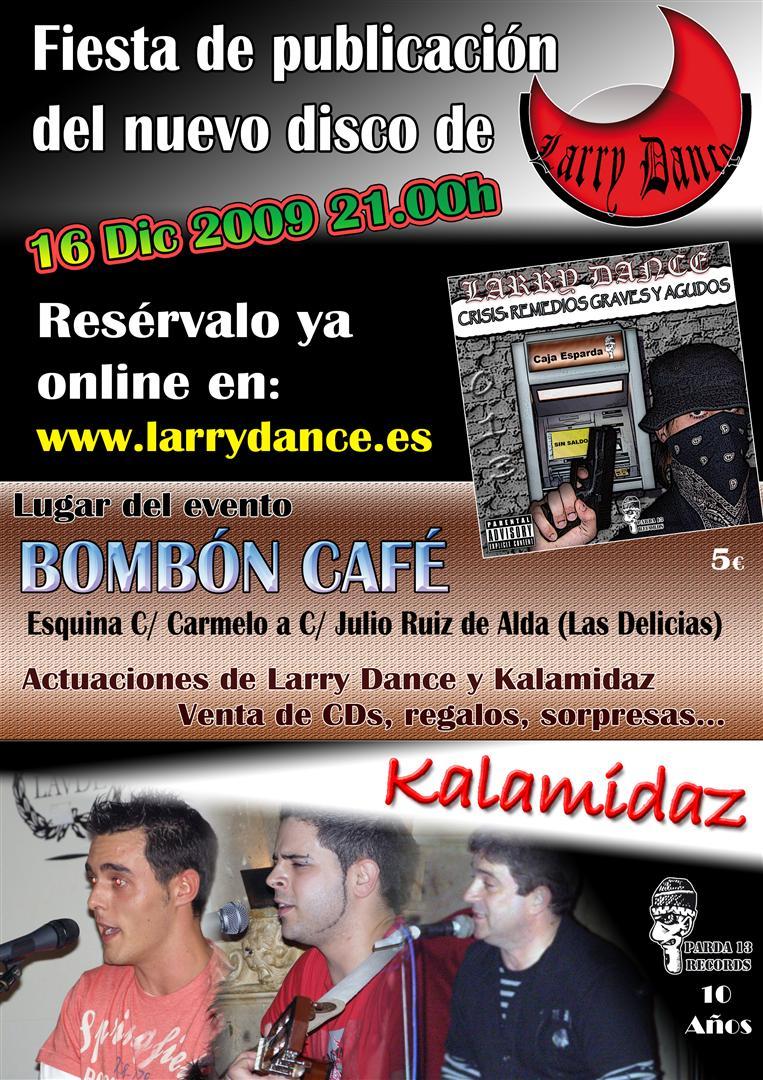 Live in Bombón Café – Diciembre 2009 (Valladolid)