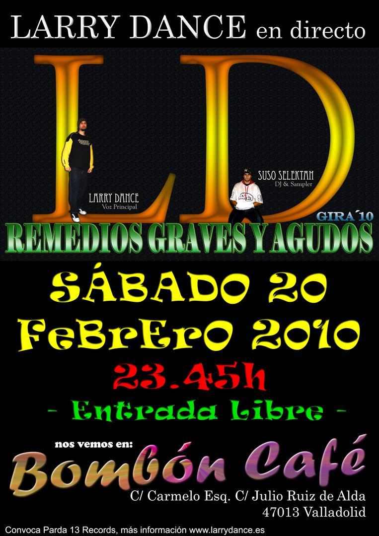 Live in Bombón Café – Febrero 2010 (Valladolid)